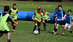 School holiday soccer clinics