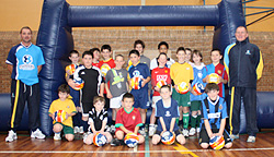 School holiday soccer clinics and camps